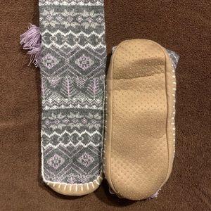 Mukluk slipper socks
